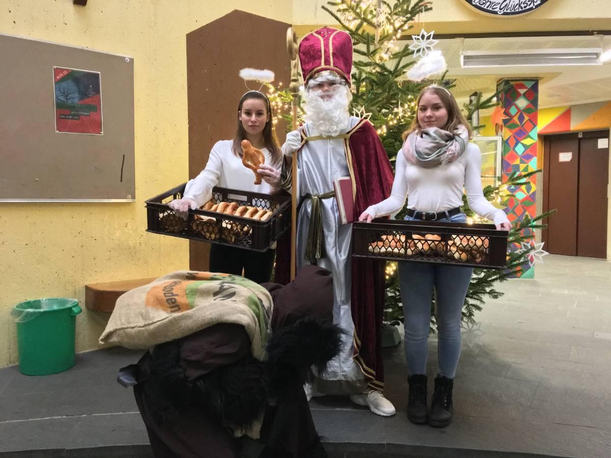 Weckmänner vom Nikolaus